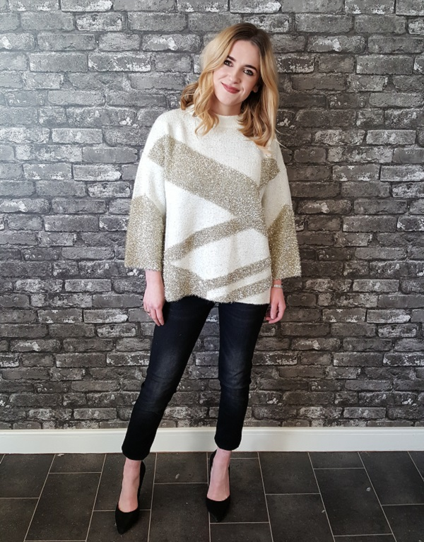 05026d8968cdf Style-dilemma solved! Simply team your party jeans with a trophy sweater,  and you're prepared for any and every situation. This look is comfy and  cosy, ...