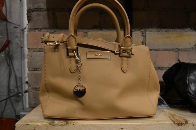 DKNY Tan Saffiano Leather Handbag 0508f12bfe6bd