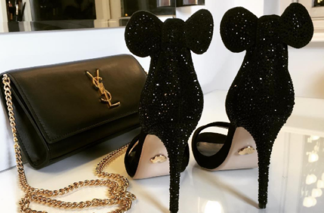 disney these minnie mouse high heels are everything