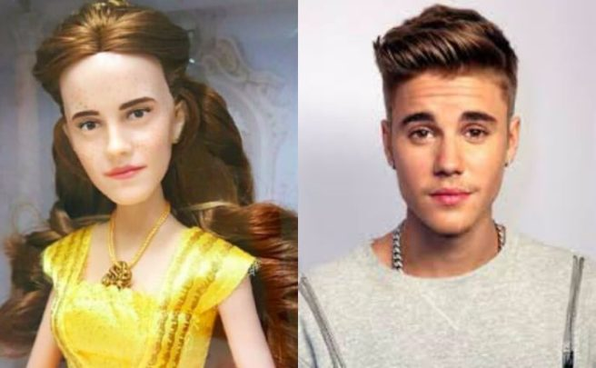 celebrity news internet some thoughts about emma watsons belle doll