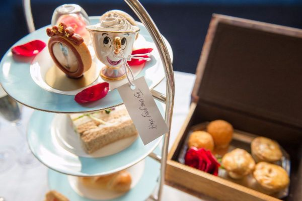 This Beauty And The Beast Afternoon Tea Is Beyond Magical