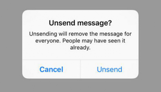 We can now UNSEND messages on Instagram (and be rid of The