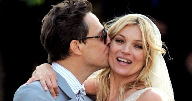 Kate Moss has NUDE wedding day pictures stolen from her
