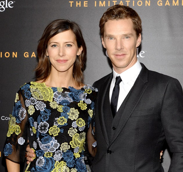 Benedict Cumberbatch is a dad again
