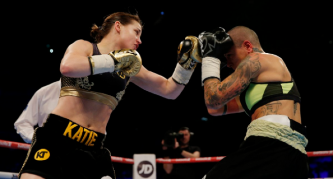 U.S. training regime paying dividends for Katie Taylor