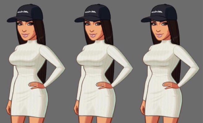 23 best My Women on Saatchi Art images on Pinterest ...  |Kim Kardashian Cartoon