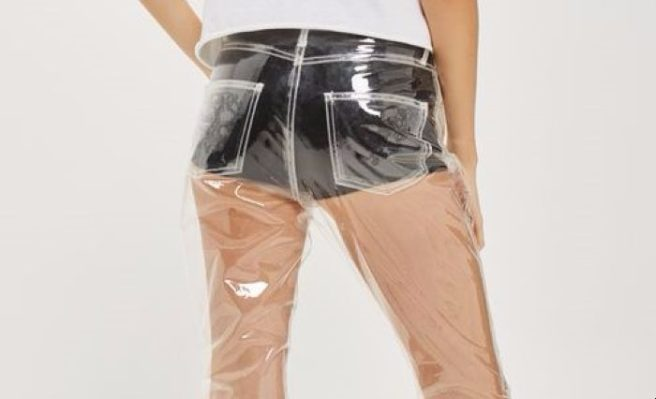 5d02f7a43ece02 These clear plastic jeans are confusing everyone right now | SHEmazing!