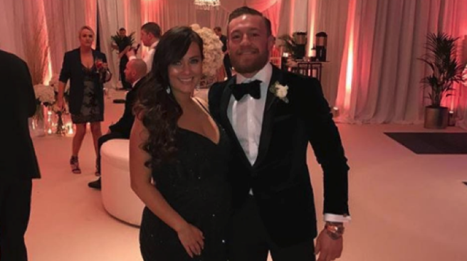 Blessed\u0027 Conor McGregor shares the FIRST photo of his