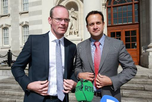 Two frontrunners in race to succeed Enda Kenny
