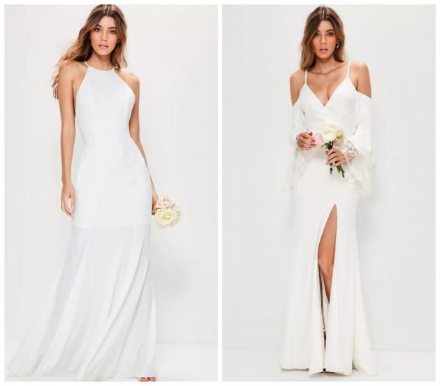 cb3d7b277693b bridal lace dress €150.00, bridal cold shoulder maxi dress €143.00, bridal  high neck dress €180.00
