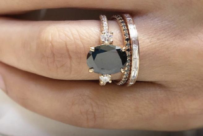 Black Diamond Wedding Ring.Love Black Diamond Engagement Rings Are The Latest Wedding Trend