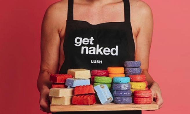 produits lush naked