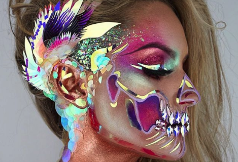 spooky af 10 halloween makeup looks that don't require a