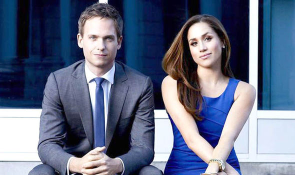 patrick j adams and meghan markle dating - photo #11