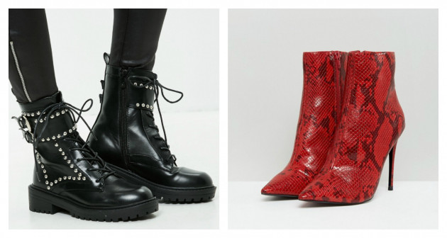 b91ecde75b3 Missguided black studded ankle boots €27.00 (50% off) KG By Kurt Geiger  Ride Snake Print Ankle Boots €182.69 (20% off)