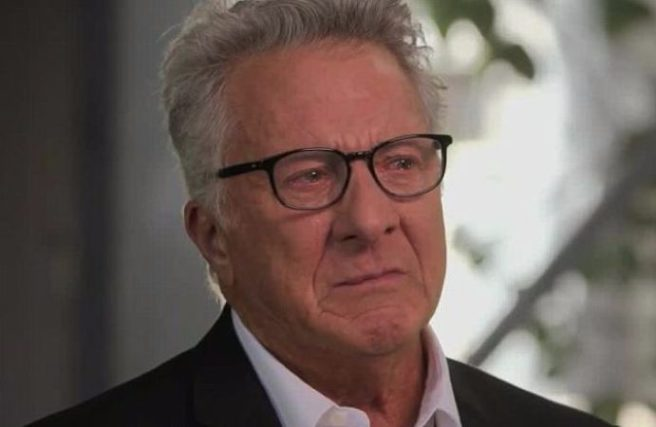 Dustin Hoffman confronted over sexual harassment allegations