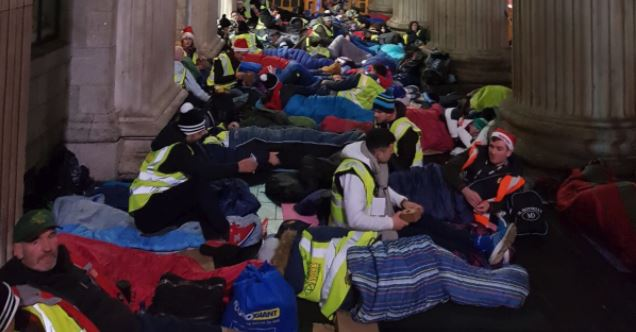 Over 400 GAA stars take part in 'homeless crisis sleep-outs'