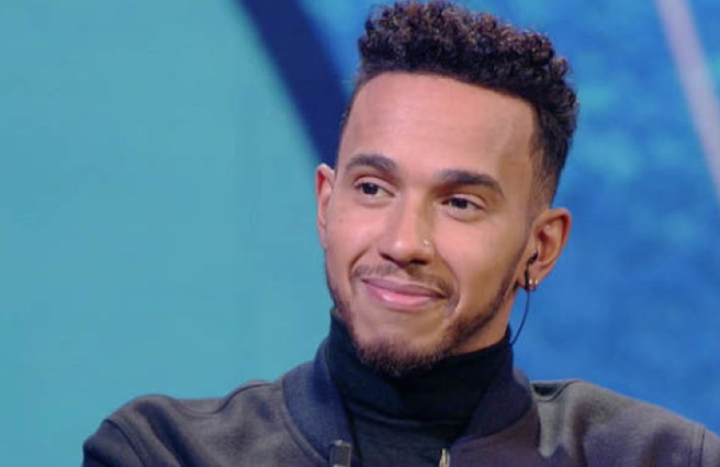 Video shows Lewis Hamilton taunting his nephew for wearing a dress