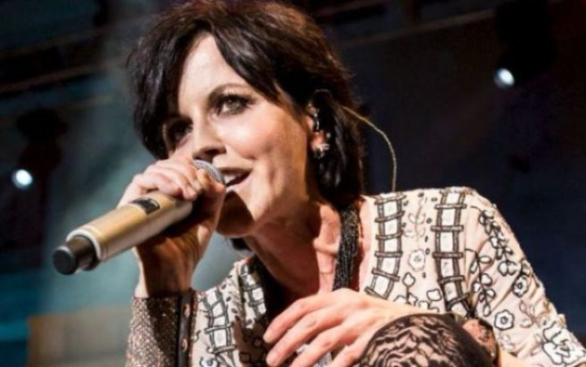Dolores O'Riordan Memorial With Open Casket Thronged