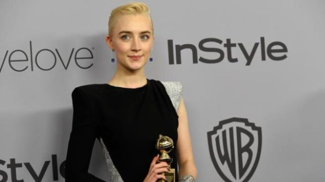 Saoirse Ronan donates Golden Globes dress to Time's Up auction
