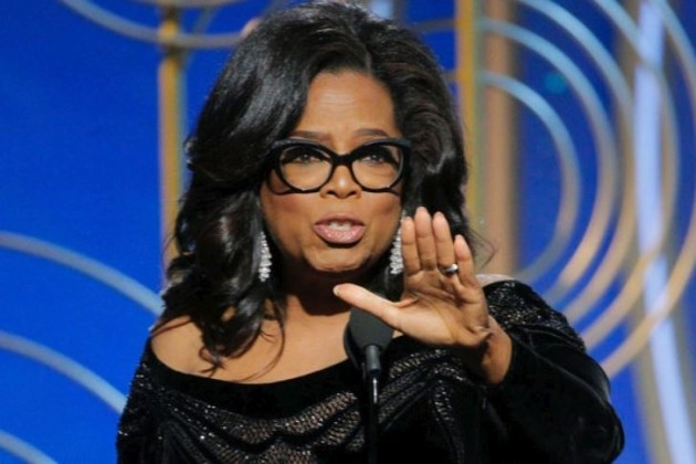 Oprah Winfrey Delivers Fiery Speech at Golden Globe Awards