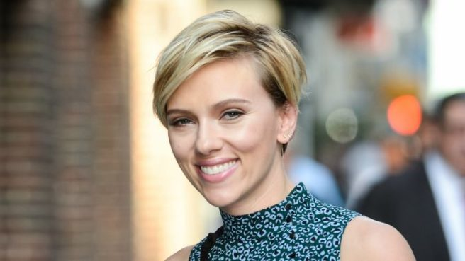 Scarlett Johansson Threw Shade At James Franco In Her Women's March Speech