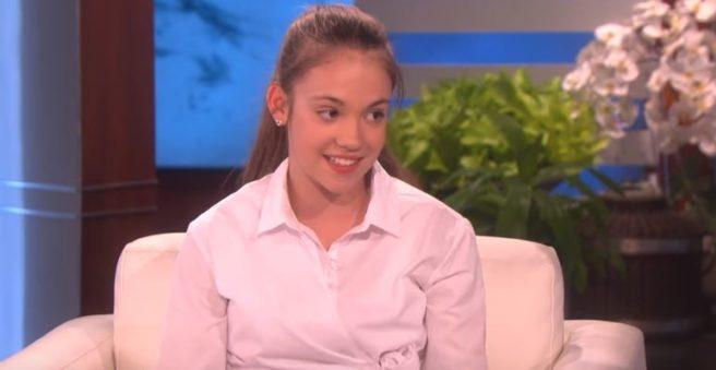 Irish busker, 12, gives spine-tingling performance on The Ellen DeGeneres Show