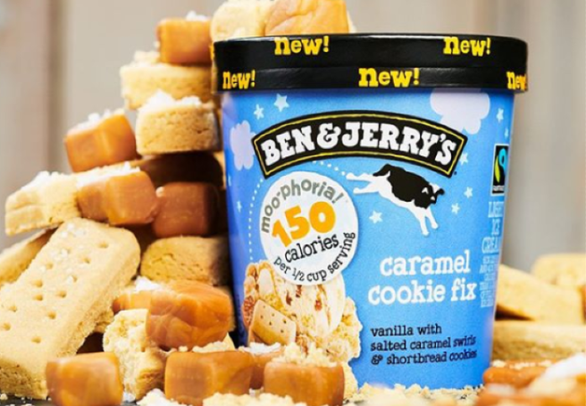 Ben & Jerry's Releases Three Lower-Calorie Cookie-Inspired Flavors