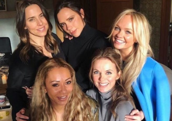 Spice Girls reunion fuels rumors of comeback