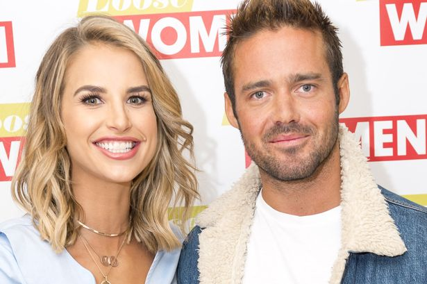 Vogue Williams flashes £150000 engagement ring as Spencer Matthews pops the question