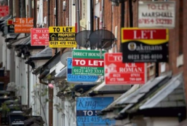 Rents in Louth rise by largest amount nationally in the a year ago