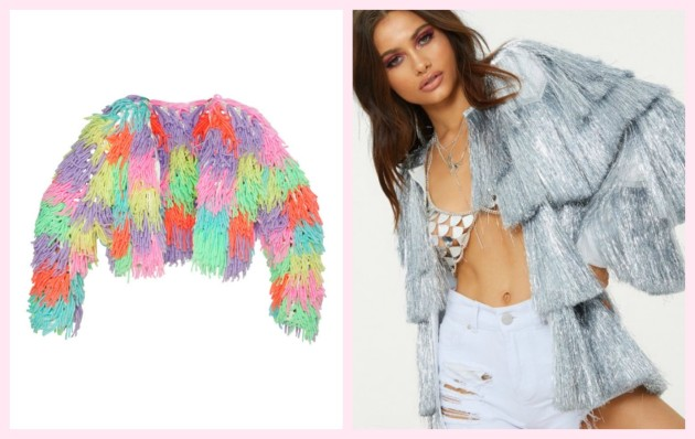 0d47e69c30 Rainbow shaggy knit cardigan €65.00
