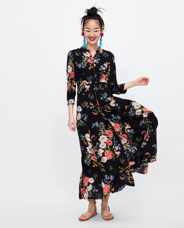 bcffc6c045d 9. Long floral print dress