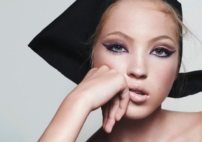 7c00c9611be Kate Moss' daughter Lila just got her first major beauty campaign