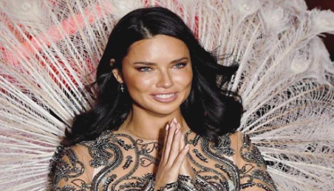 fd2ac907a4 Adriana Lima bids a tearful farewell to her Victoria s Secret wings ...
