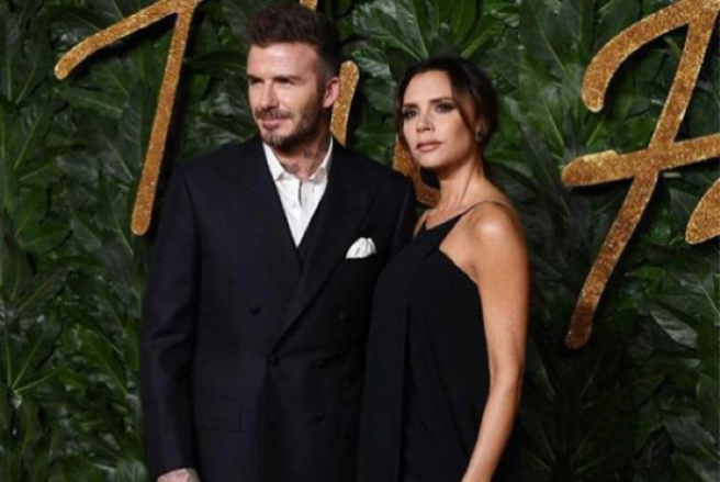 2cab78ca9 Victoria Beckham removes tattoo thought to be tribute to David