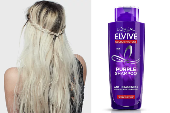 She Reviews L Oreal Paris Go Purple Anti Briness Shampoo