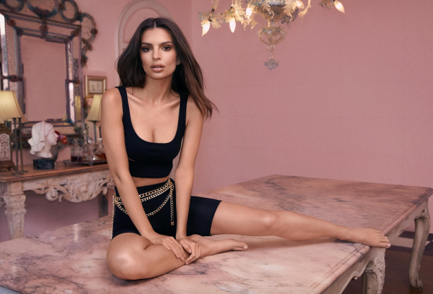 430a255144e701 Emily Ratajkowski is the face of the stunning campaign, which is available  on Nasty Gal's website from today.