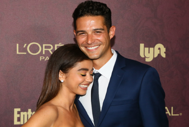 Modern Family Star Sarah Hyland Is Engaged To Boyfriend Adam Wells Shemazing