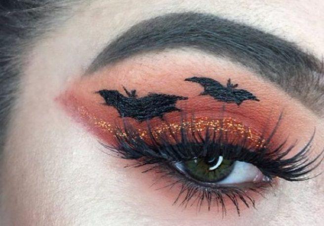 Super easy last minute Halloween makeup looks for