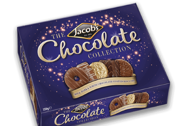 Image result for Jacob's Elite seasonal tin.