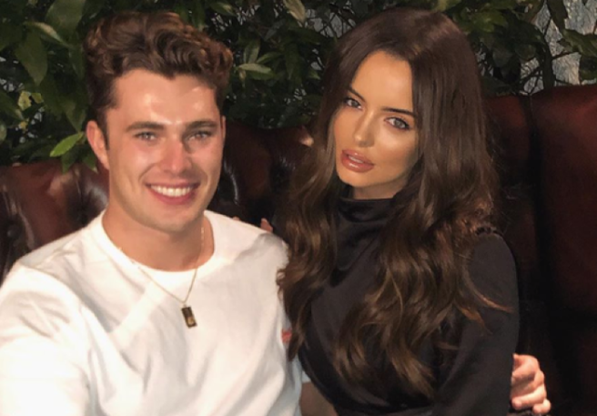 Love Island's Maura Higgins and Curtis Pritchard split up