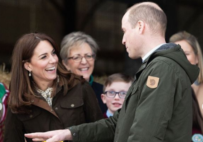 Kate Middleton Looks So Happy in Ireland