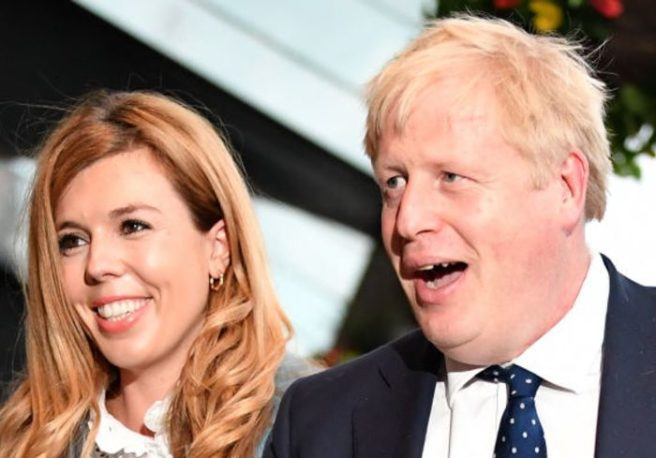 Boris Johnson's fiancee Carrie Symonds gives birth to baby boy