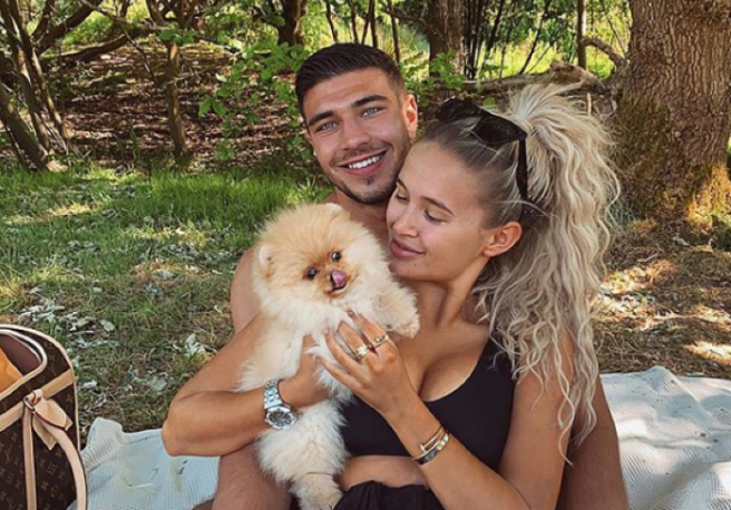 Molly-Mae Hague shares tearful video paying tribute to pomeranian puppy