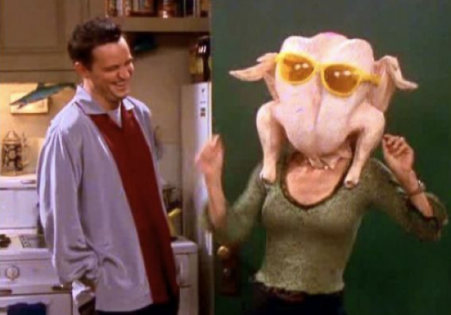 Courteney Cox Reacts to Those Friends Thanksgiving Memes
