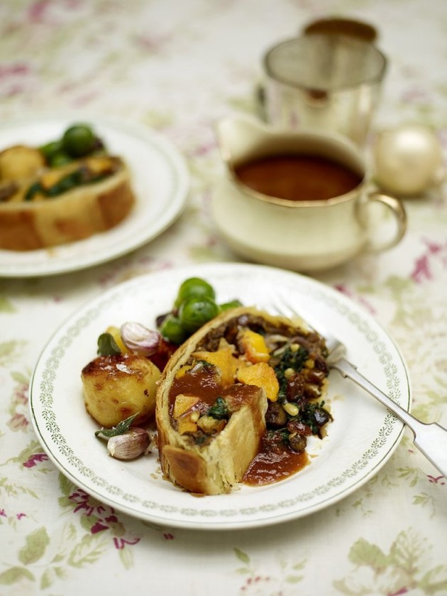 Recipe: Jamie Oliver's mushroom and squash vegetarian ...