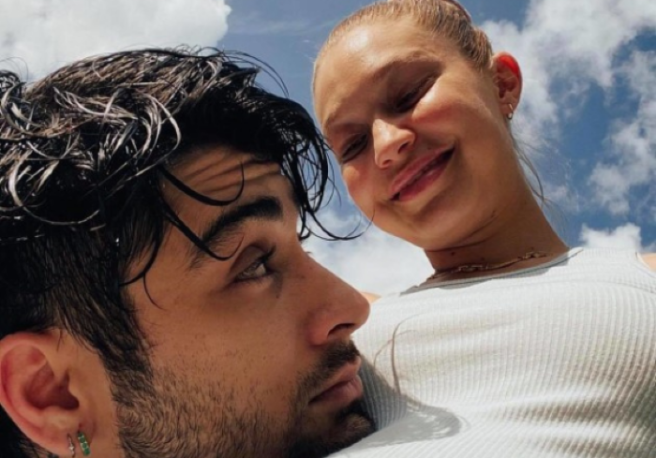Gigi Hadid is ultimate fashionista even in her pre-labour selfies